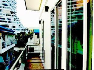 阿瑪林芭東海灘旅館 普吉島 - 陽台