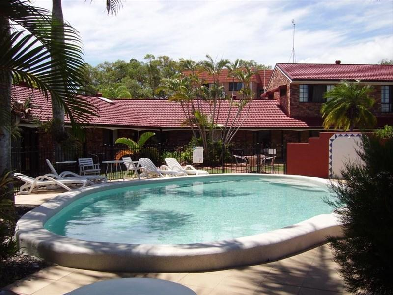 Hotell Hervey Bay Colonial Lodge