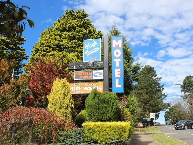 High Mountains Motor Inn - Hotell och Boende i Australien , Blue Mountains