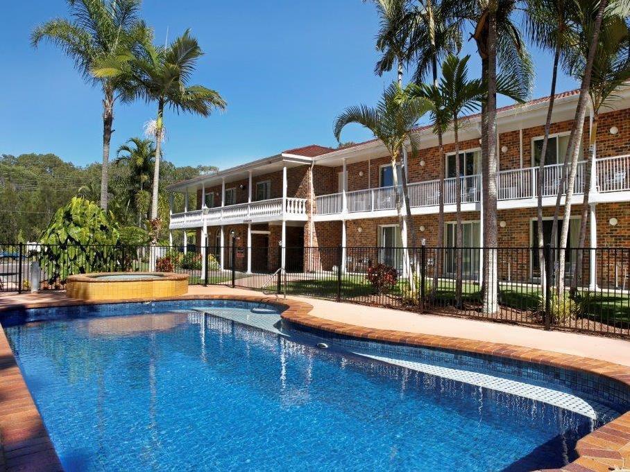 Aston Motel Yamba - Hotell och Boende i Australien , Yamba