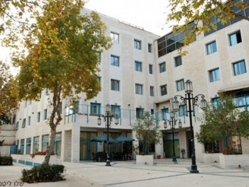 Ella Residence Jerusalem - Hotellet från utsidan
