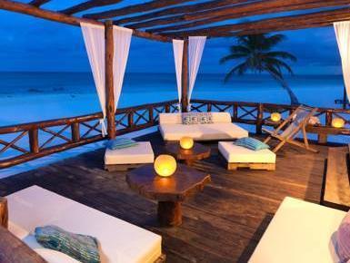Hemingway Romantic Eco Resort Tulum - Balkon/terasa