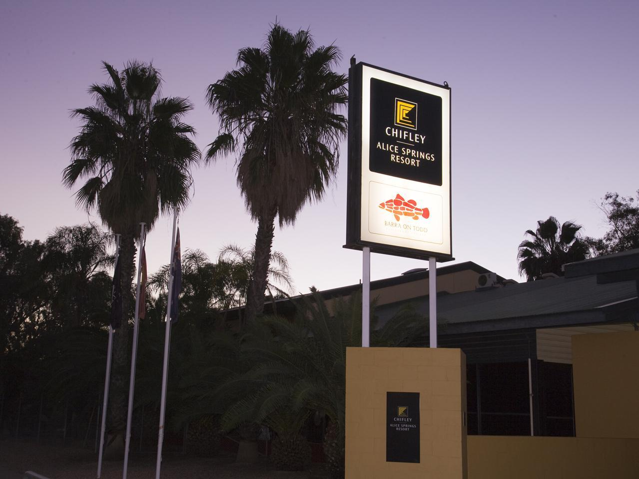 Hotell Chifley Alice Springs Resort