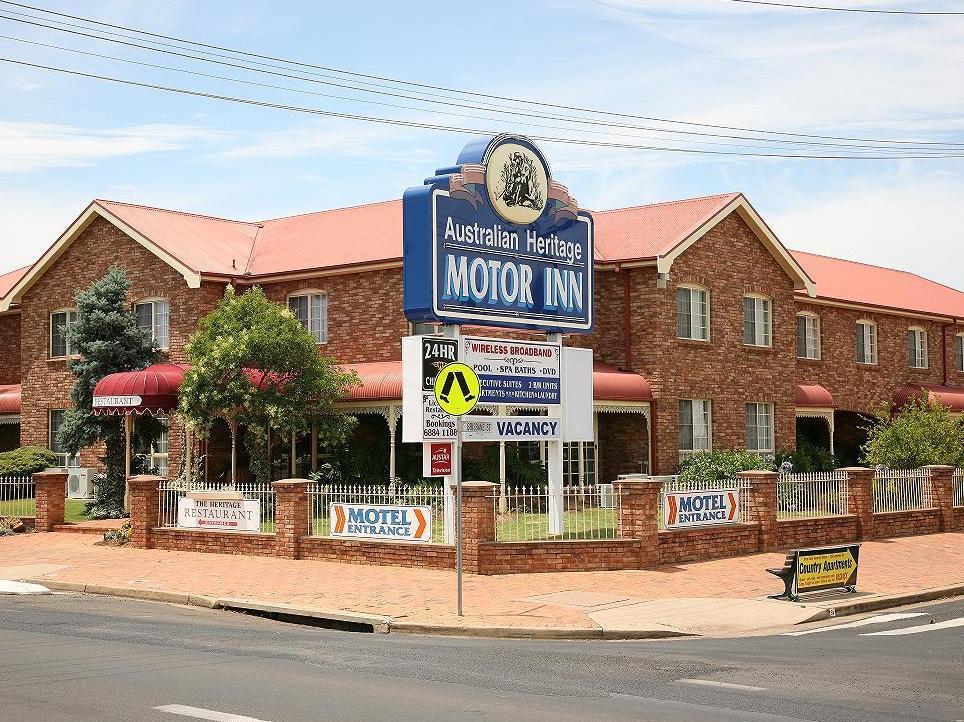 Australian Heritage Motor Inn - Hotell och Boende i Australien , Dubbo
