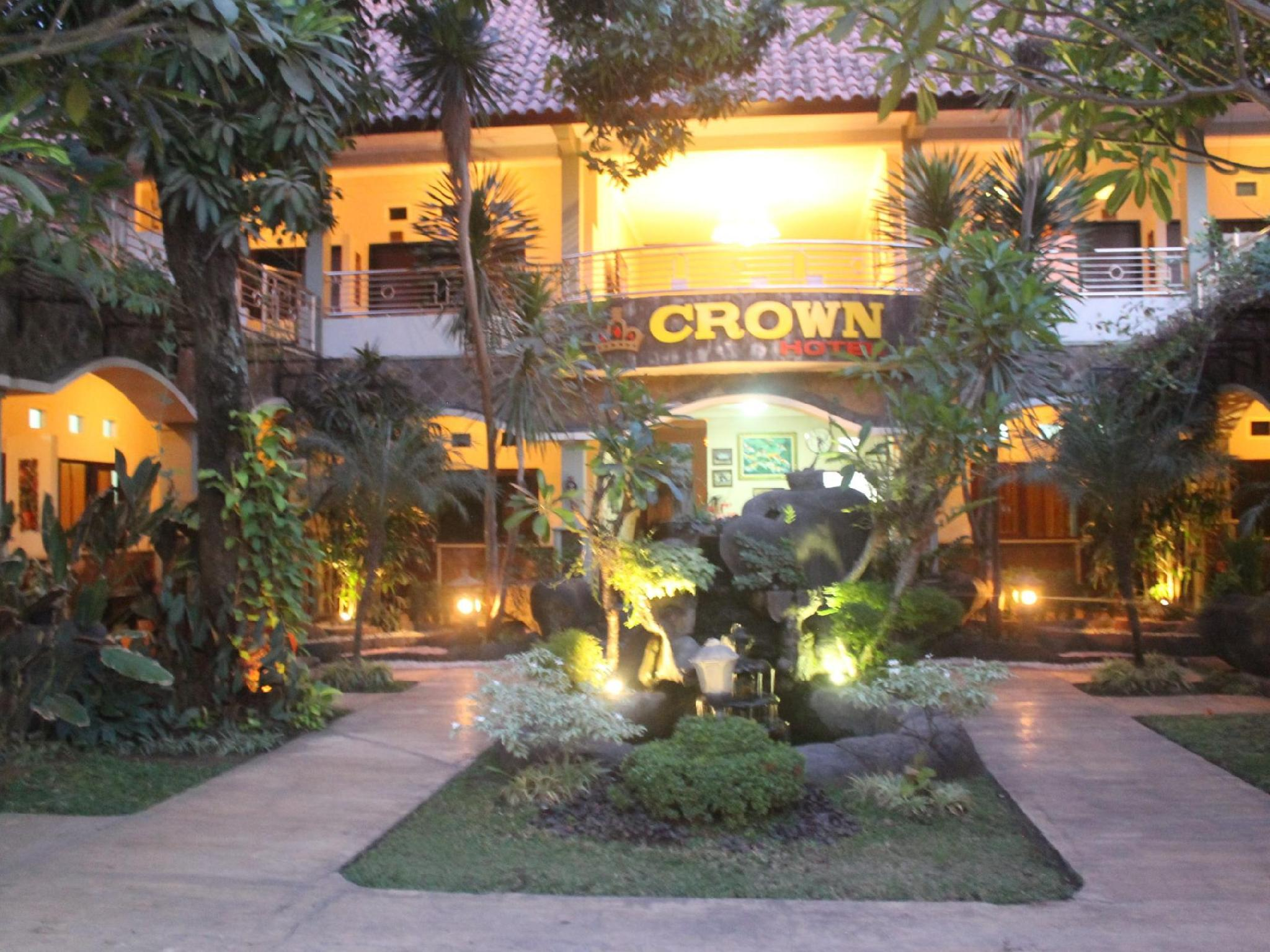 Hotell Crown Hotel Lombok