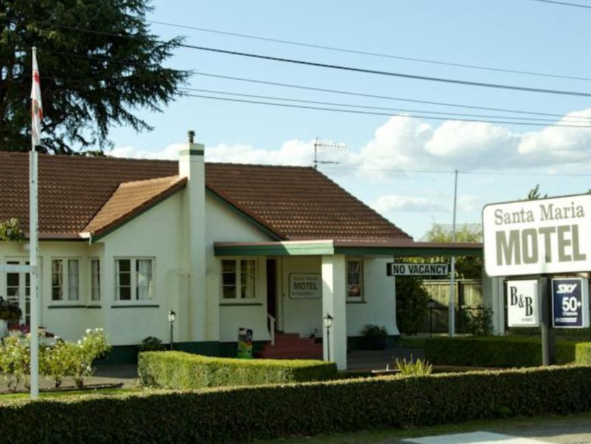 Santa Maria Motel - Hotels and Accommodation in New Zealand, Pacific Ocean And Australia