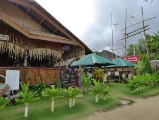 Philippines Hotel Accommodation Cheap | Green Verde Resort Cottages Puerto Princesa City - Restaurant Exterior