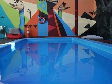 ซาซิโฮสเทล เซาเปาโล - สระว่ายน้ำ