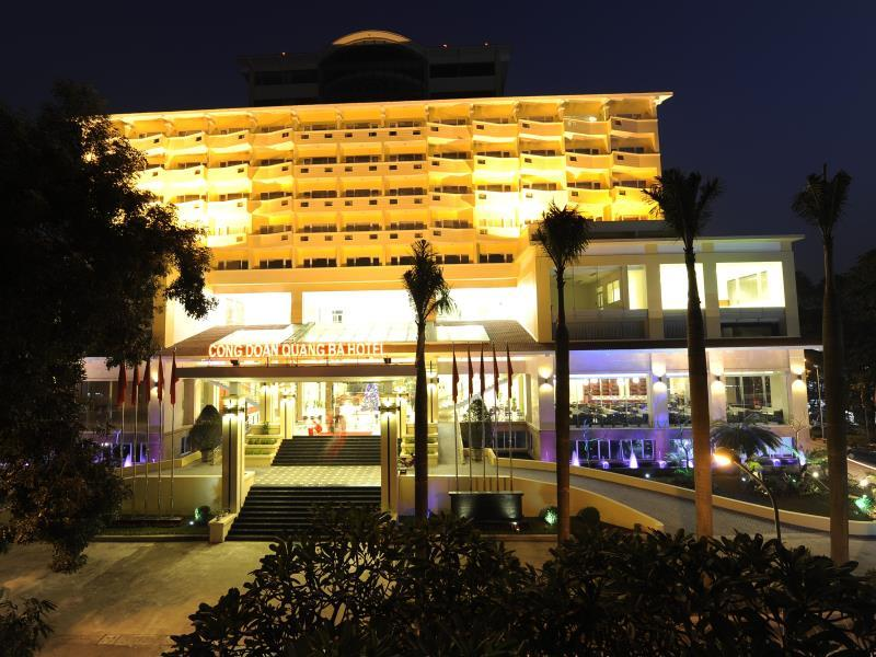 Hotell Quang Ba Trade Union Hotel