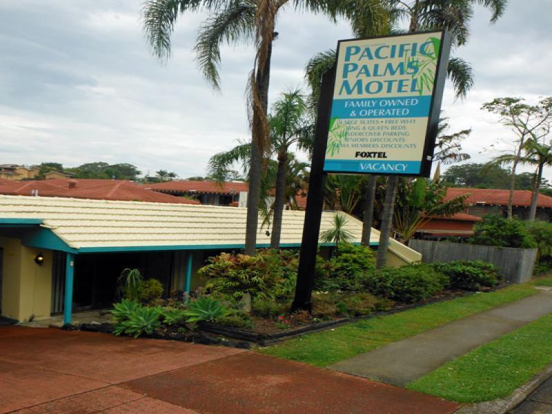 Coffs Harbour Pacific Palms Motel - Hotell och Boende i Australien , Coffs Harbour