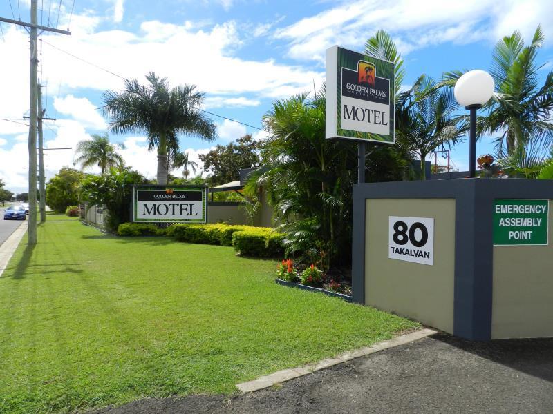 Golden Palms Motor Inn - Hotell och Boende i Australien , Bundaberg