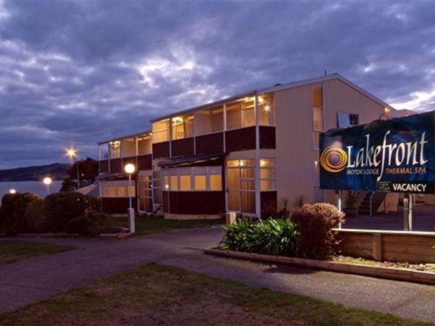VU Thermal Lodge - Hotels and Accommodation in New Zealand, Pacific Ocean And Australia