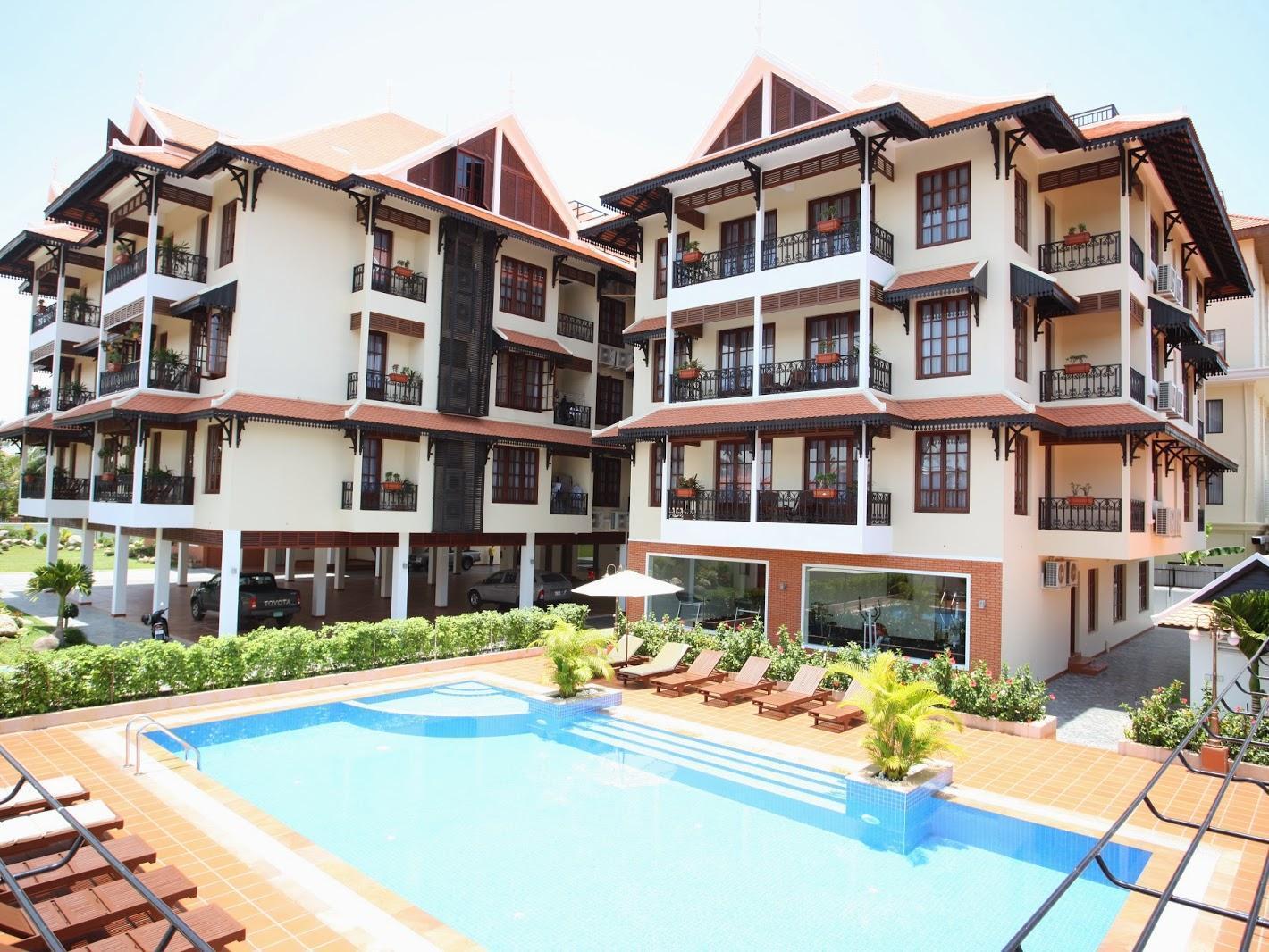 Steung Siemreap Residences & Apartment - Siem Reap