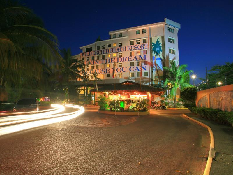 Hotell Wild Orchid Beach Resort