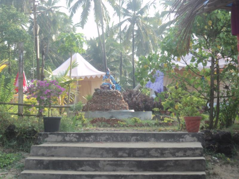 Five Five Restaurant and Guest Tents - Hotell och Boende i Indien i Goa