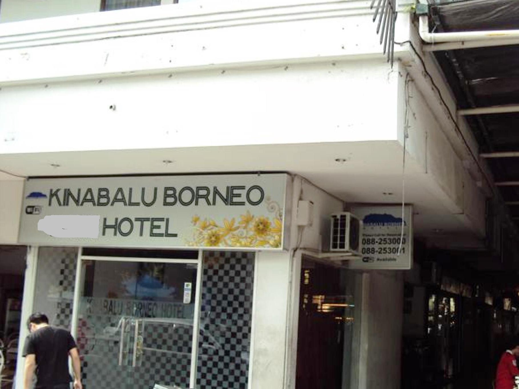 Kinabalu Borneo Hotel Kota Kinabalu - Hotel Exterior