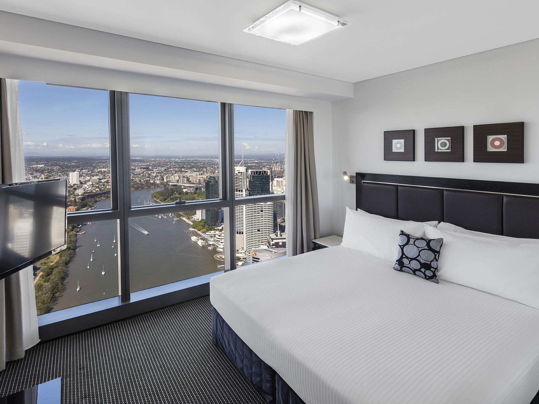 Meriton Serviced Apartments - Adelaide Street Brisbane - Surroundings