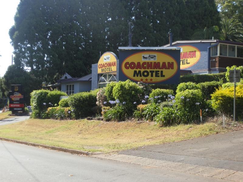 Coachman Motel - Hotell och Boende i Australien , Toowoomba