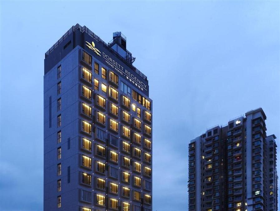 Dorsett Regency Hotel, Hong Kong Honkongas - Viešbučio išorė