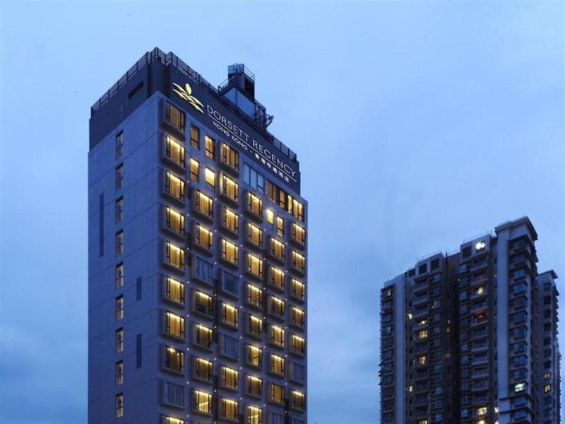 Dorsett Regency Hotel, Hong Kong הונג קונג - בית המלון מבחוץ