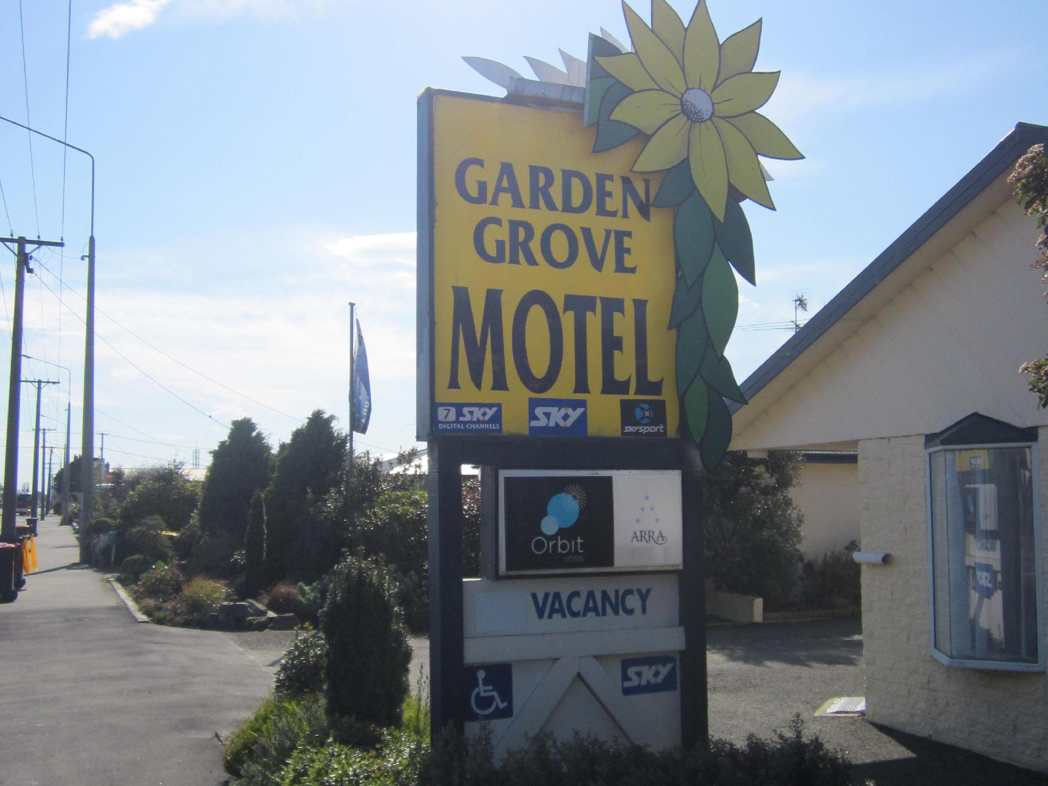 Arra Garden Grove Motel - Hotels and Accommodation in New Zealand, Pacific Ocean And Australia