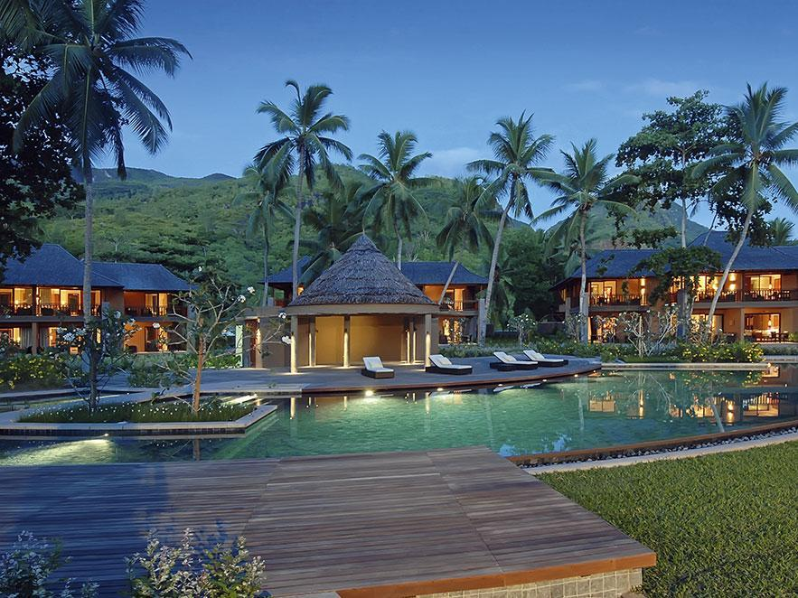 Hotels in mahe island seychelles book hotels and cheap for Villas de jardin mahe island
