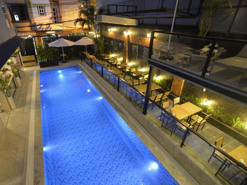 Hotell Beautiful Saigon 3 Hotel
