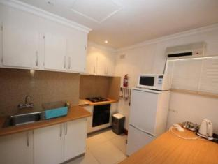 The Munday Self Catering Apartments Johannesburg - Hotellet indefra