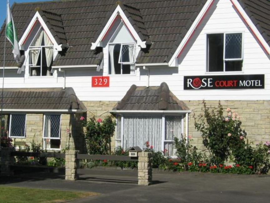 Rose Court Motel - Hotels and Accommodation in New Zealand, Pacific Ocean And Australia