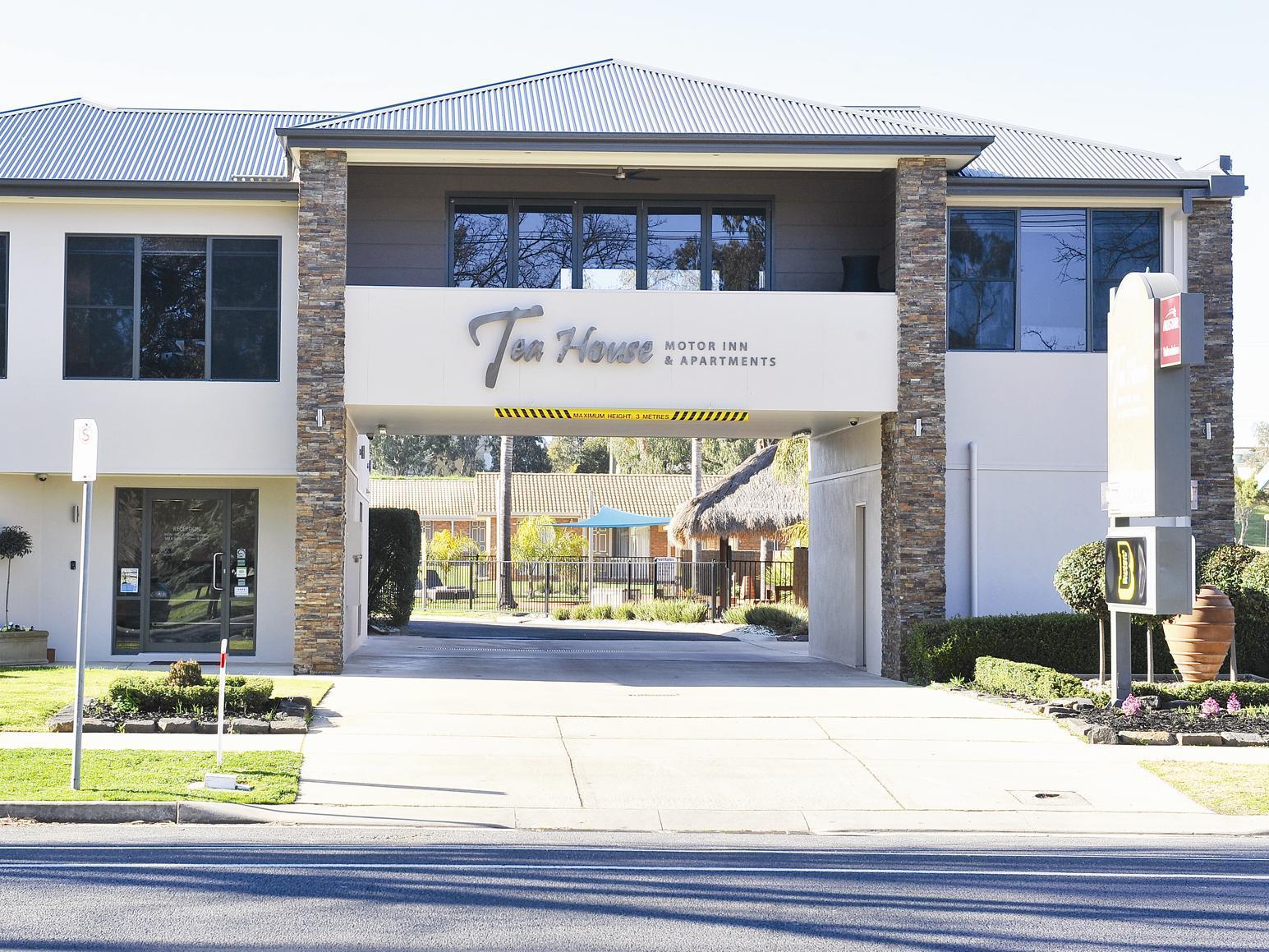 Tea House Motor Inn - Hotell och Boende i Australien , Bendigo