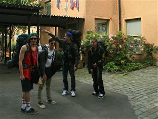 Reimersholme Hotel Stockholm - Backpackers on their way home