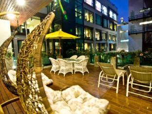 Rashmi's Plaza Hotel Vientiane Vientiane - Balkon/Terras