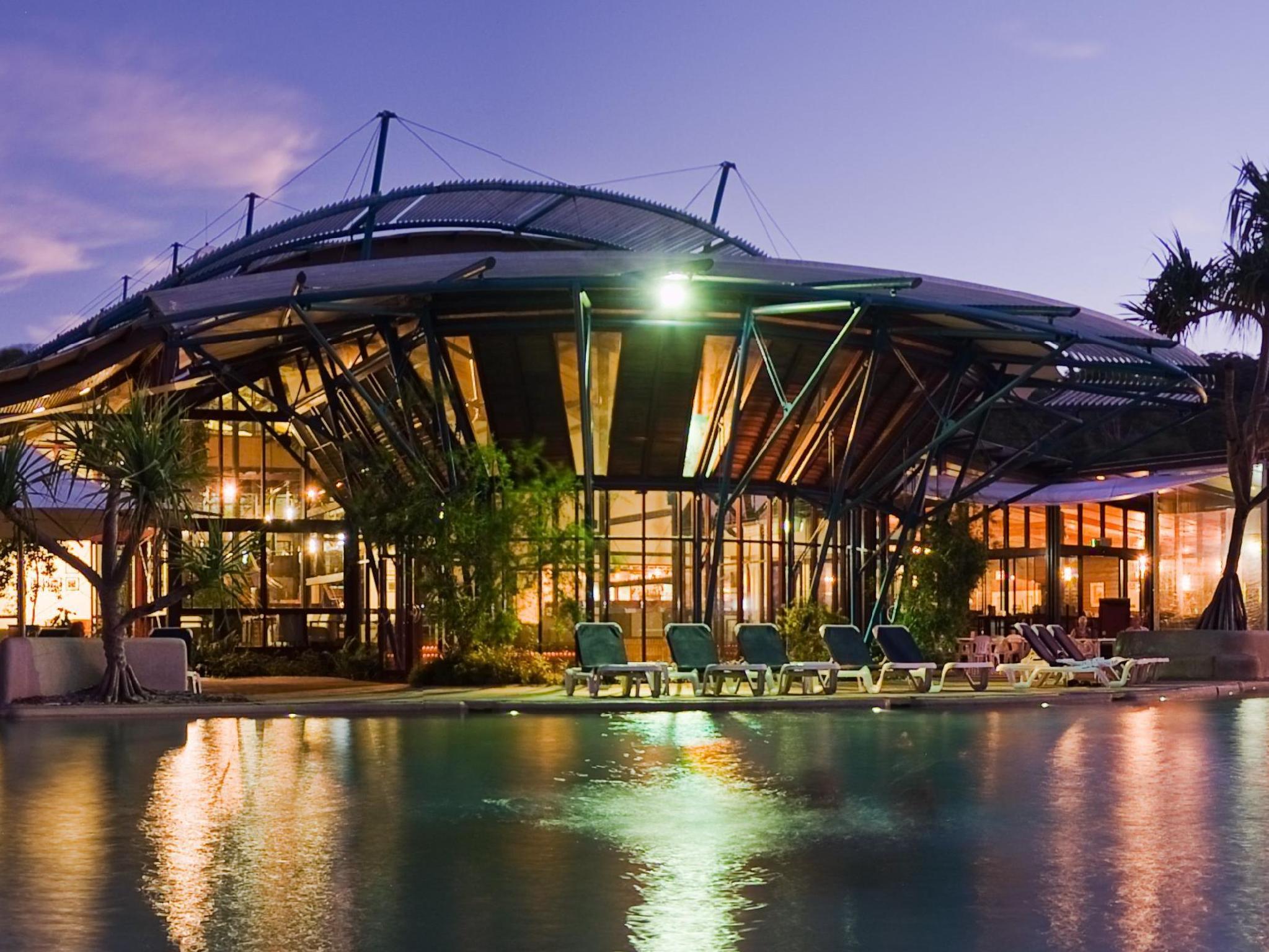 Hotell Kingfisher Bay Resort Fraser Island