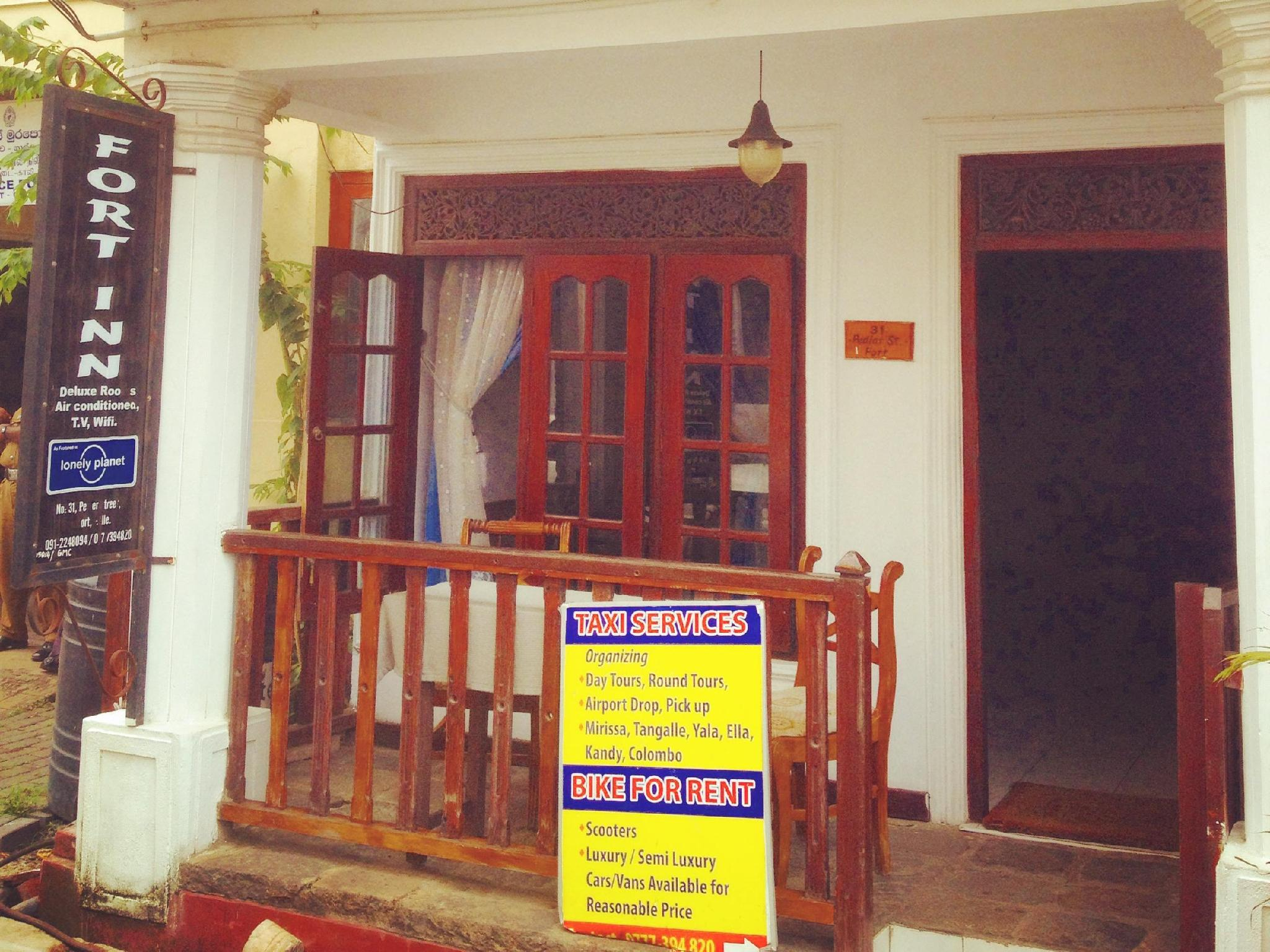 Fort Inn Guest House - Hotels and Accommodation in Sri Lanka, Asia