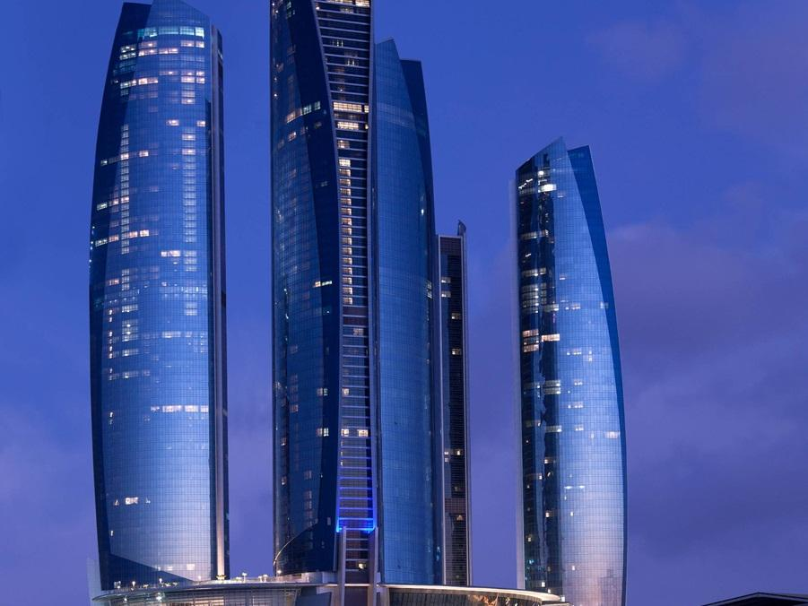 Jumeirah at Etihad Towers Hotel - Hotels and Accommodation in United Arab Emirates, Middle East