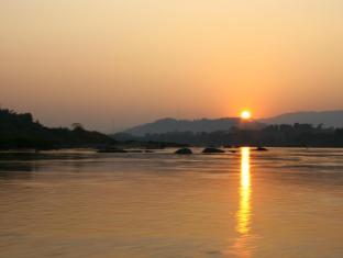 Rai Saeng Arun Resort Chiang Khong (Chiang Rai) - Sunset at Mekhong River