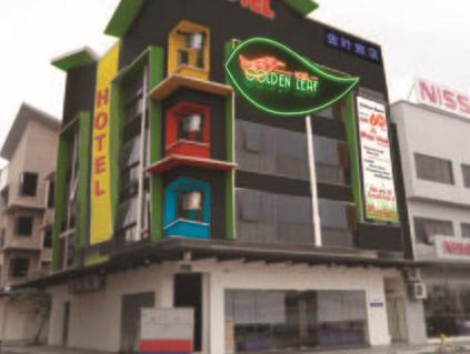 Golden Leaf Boutique Hotel Johor Bahru - Exterior