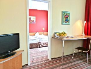 Leonardo Airport Hotel Berlin Brandenburg ברלין - חדר שינה