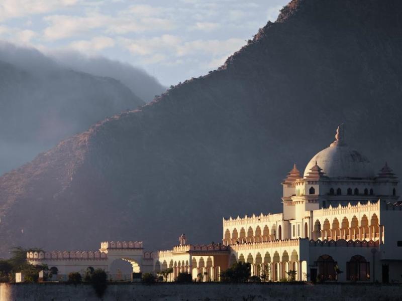 Gulaab Niwaas Palace - Hotell och Boende i Indien i Pushkar