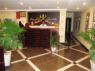 Sun City Guesthouse Phnom Penh - Receptionist Area