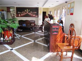 Sun City Guesthouse Phnom Penh - Reception Area