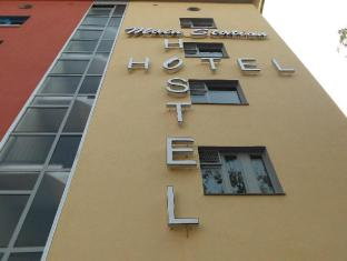 Main Station Hotel & Hostel Berlin - Hotellet udefra
