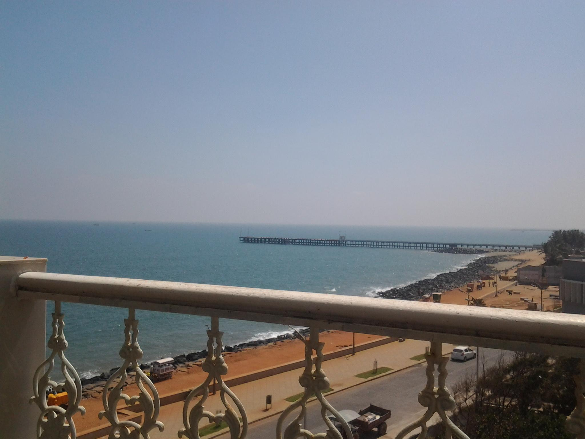Lotus Bay View Hotel - Hotell och Boende i Indien i Pondicherry