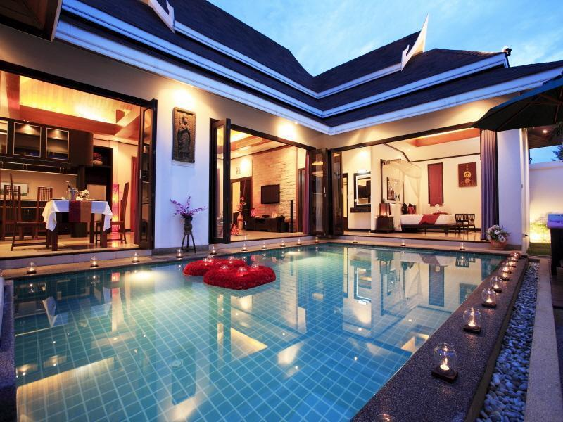 The Iris Pool Villa - Hotels and Accommodation in Thailand, Asia