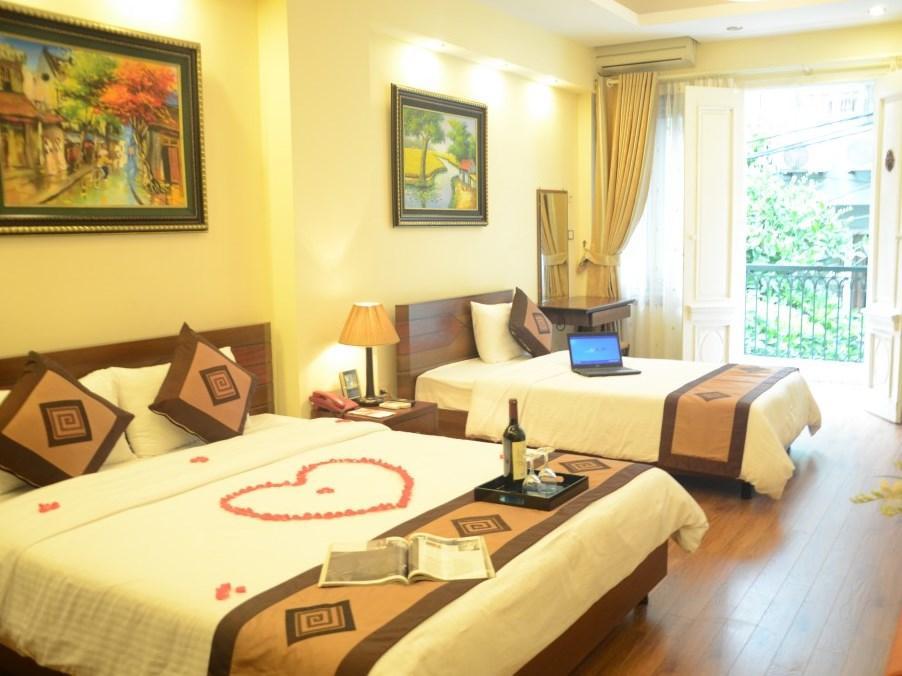 Hanoi Blue Lotus Hotel - Hotell och Boende i Vietnam , Hanoi