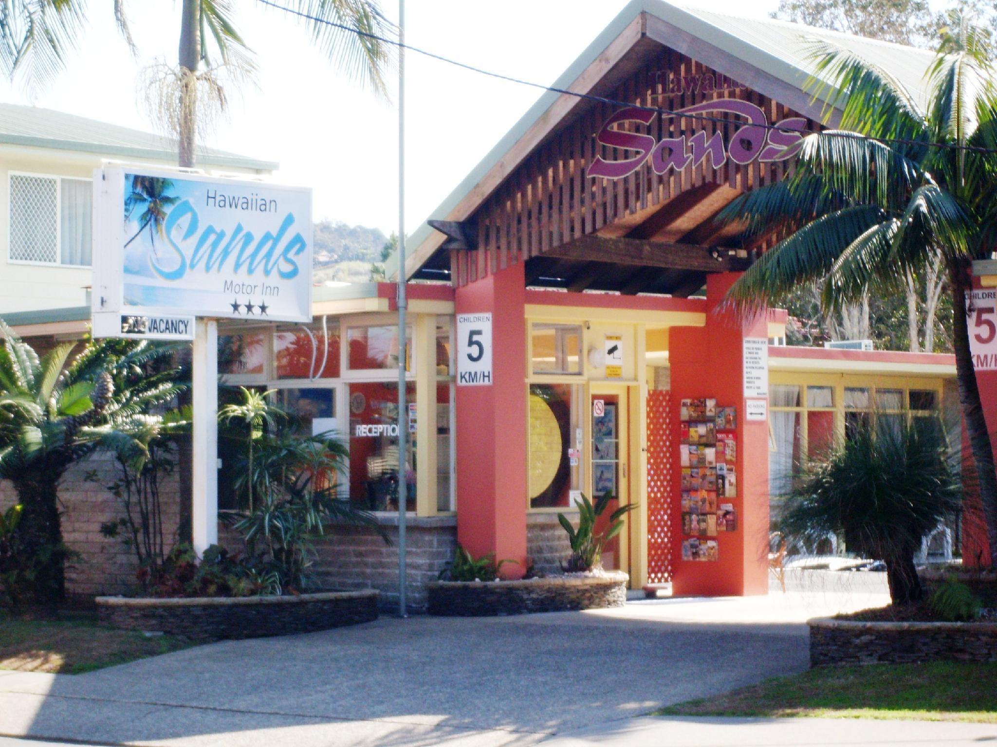 Hawaiian Sands Motor Inn - Hotell och Boende i Australien , Coffs Harbour