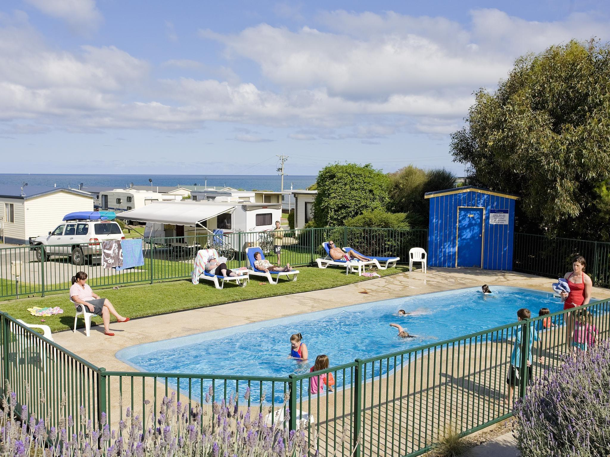 Pisces Holiday Park - Hotell och Boende i Australien , Great Ocean Road - Apollo Bay