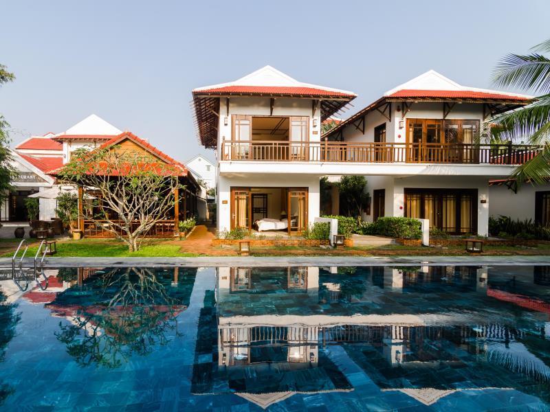 Hotell Riverside Bamboo Resort Hoi An