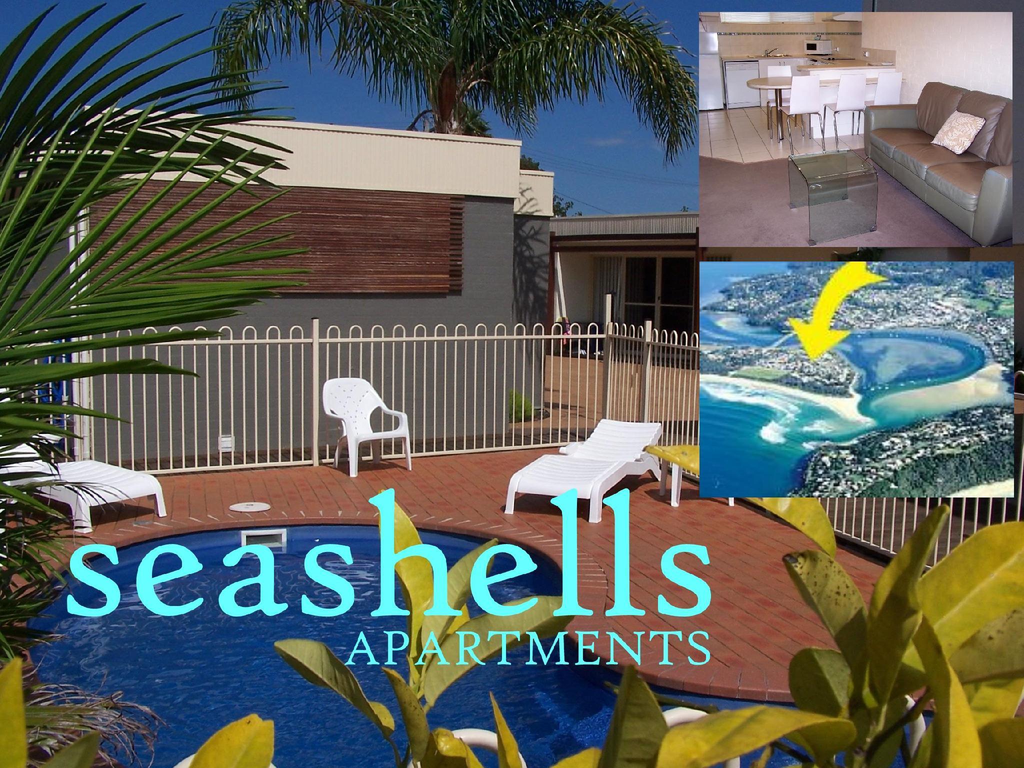 Seashells Apartments Merimbula - Hotell och Boende i Australien , Merimbula