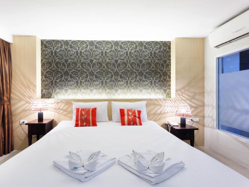 Hotell The Banana Leaf Hotel i Patong, Phuket. Klicka för att läsa mer och skicka bokningsförfrågan